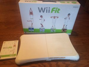 Wii Fit for sale! Board and game included. for Sale in Houston, TX