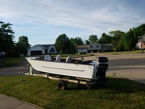 Starcraft Holiday w/ Mercury 95hp for Sale in Medina, OH