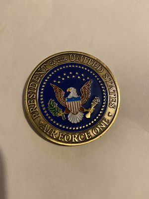 An Original New Air Force One Andrews AFB MD Challenge Coin for Sale in Dallas, TX