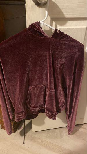 Velvet PINK hoodie for Sale in El Cajon, CA