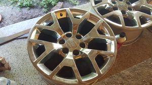 GMC Sierra chrome stock rims for Sale in Austin, TX