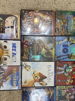 11 Disney DVDs. Brand new never opened for Sale in Porter,  TX