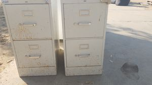 2 metal file cabinets for Sale in Clovis, CA