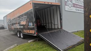 24' Toy Hauler Cargo / Motorcycle Trailer for Sale in Garden Grove, CA