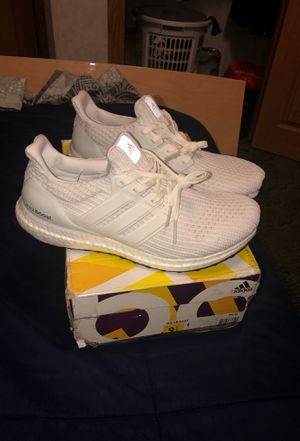 Adidas triple white ultraboost for Sale in Germantown, MD