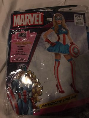 Captain Marvel Halloween Costume Small for Sale in Atlanta, GA