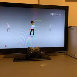 X Box 360 With 30 Inch Monitor for Sale in Portland, OR