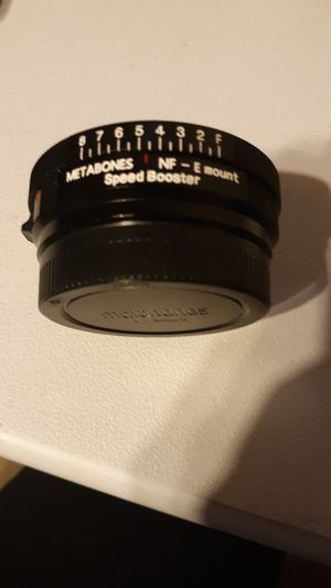 Metabones nikon to sony adapter for Sale in Nashville, TN