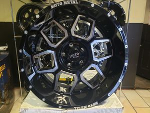 (5) new wheels with tires {link removed} M/T jeep wrangler for Sale in Mableton, GA