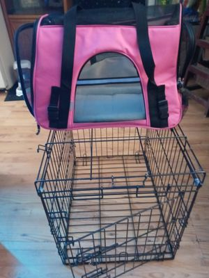 Animal carrier and dog crate can seperate new for Sale in Kenneth City, FL