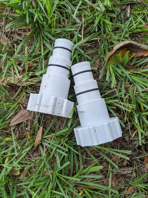 Type A hose adapters for above ground pool for Sale in Clearwater, FL