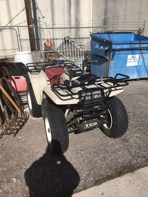 1987 Yamaha big bear 350 atv with trailer for Sale in Salt Lake City, UT
