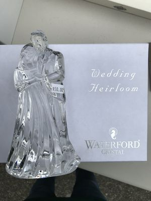Waterford crystal bride and groom for Sale in Kirkland, WA
