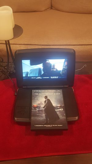 Portable DVD Player w/ The Dark Night Rises Dvd for Sale in Selma, TX
