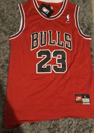 Jordan bulls Jersey Stiched for Sale in Santa Clara, CA