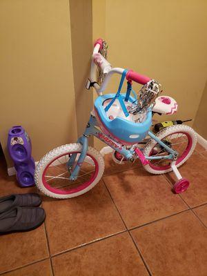 Girls bike & helmet for Sale in Orlando, FL