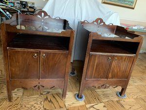 Mahogany night tables for Sale in Alexandria, VA