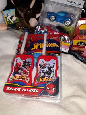 Spiderman walkie talkie set ELK GROVE VILLAGE $10 for Sale in Elk Grove Village, IL