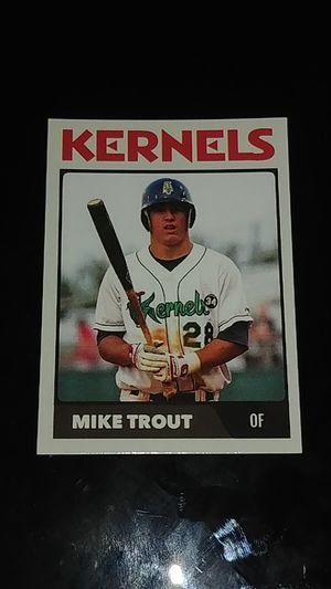 2011 Mike Trout Baseball Card for Sale in Whittier, CA