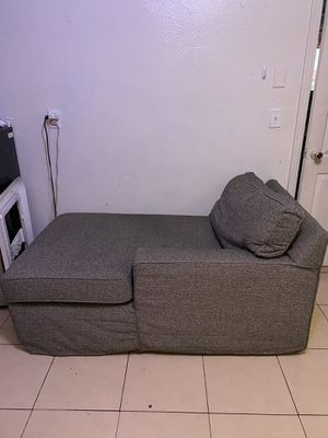 Grey lounge couch for Sale in Cathedral City, CA