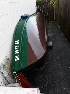 12 ft john boat. No title needed for boat 12 and under for Sale in Columbus, OH