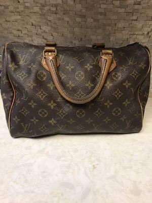 Louis Vuitton Authentic Speedy 25 Bag- brown & tan for Sale in San Juan Capistrano, CA