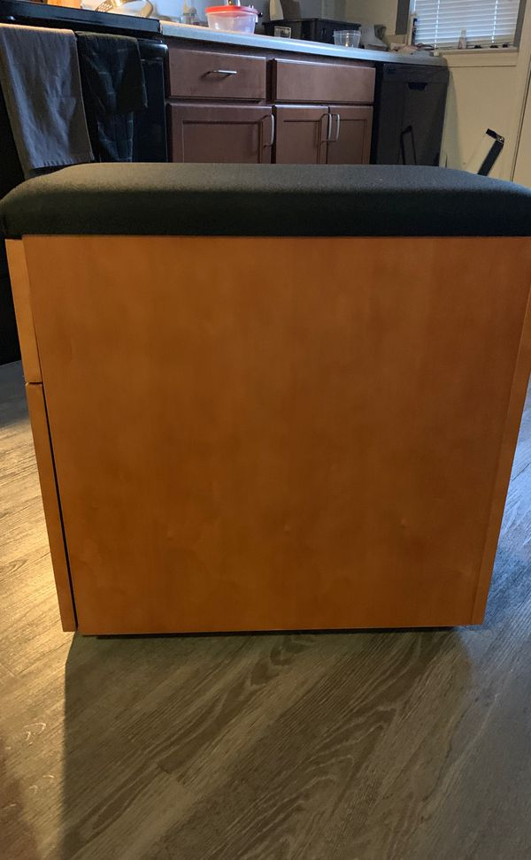 2 Drawer Wooden Cabinet