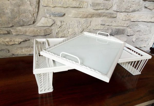 Vintage Bed & Breakfast Tray Table