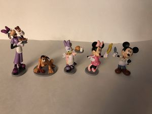 Nice Lot of 9 Disney Character Figures for Sale in Whitman, MA