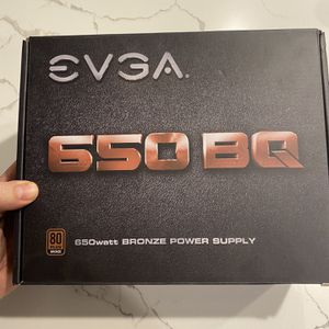 EVGA 650 BQ Semi Modular Power Supply PSU for Sale in Fontana, CA