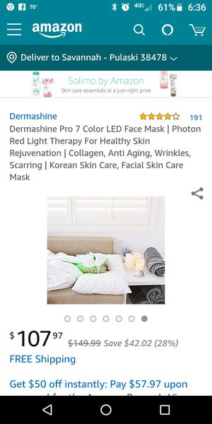 Beauty Face therapy mask for Sale in Pulaski, TN