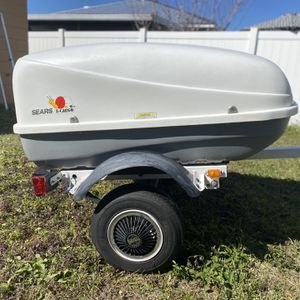 Small Tow Along Trailer (Sears X-Cargo) for Sale in Kissimmee, FL
