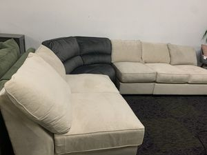 Mix and match 4 piece sectional couch for Sale in Corona, CA