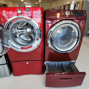 Electrolux Front Load Washer And Electric Dryer Mix Set With Pedestal Used In Good Condition With 90day's Warranty for Sale in Washington, DC