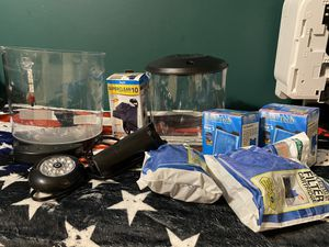 2 Fish tanks with lights, thermometer, and filters for Sale in White House, TN