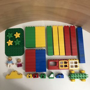 Lot of Duplo Pieces 110 Pieces for Sale in Temple City, CA
