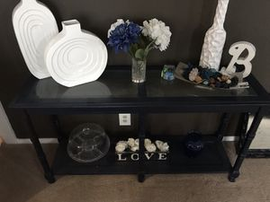 Blue Console table for Sale in Springfield, PA