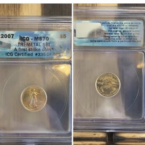 1/10oz MS70 GOLD for Sale in Browns Mills, NJ