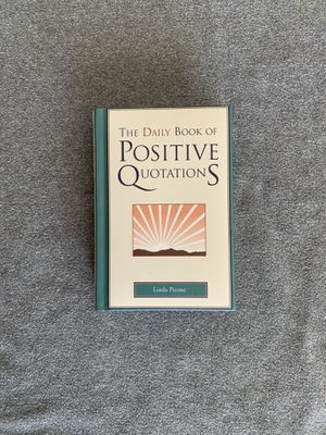 Daily Positive Quotes Book for Sale in Watsonville, CA