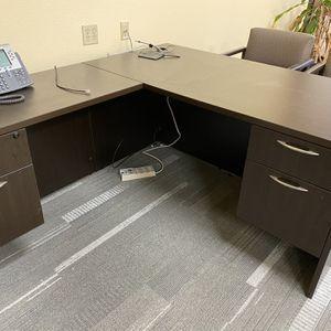 Executive Desk With Left Return for Sale in Diamond Bar, CA
