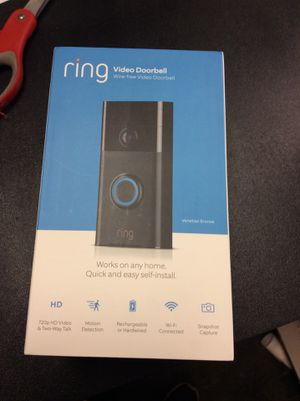 Ring video Doorbell for Sale in Arlington Heights, IL