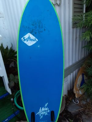 5,4 Soft tech Mason Twin surf board for Sale in Encinitas, CA