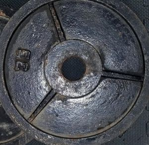 Two Olympic Weights 35lbs for Sale in Fresno, CA