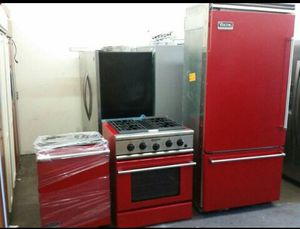 red high end applaince set for Sale in Yorba Linda, CA