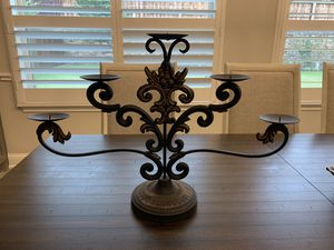 $15 candle holder or candelabra outside or inside home decor for Sale in Frisco, TX