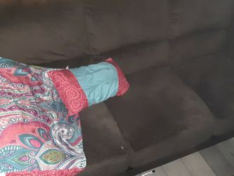 Like New Large Brown Couch it Also Has A Love Seat Too. for Sale in Coarsegold,  CA