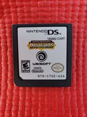 Dragons battle of giants Nintendo ds for Sale in Norwalk, CA