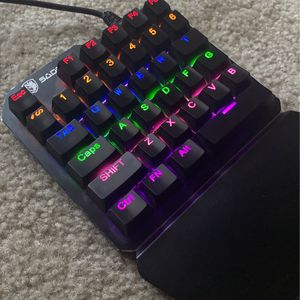 Mini LED gaming keyboard for Sale in Jacksonville, FL