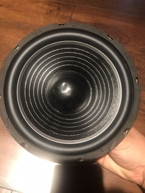 "Pro 8"" Midrange Speaker 600 Watt Max 4 ohm Loudspeaker ,home, Car Audio etc Qsc EV Mackie Electro Voice Cerwin Vega Speakers Bass subwoofers music"