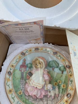 Cherished teddy plates for Sale in Falls Church, VA